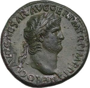 obverse: Nero (54-68).. AE Sestertius, Rome mint