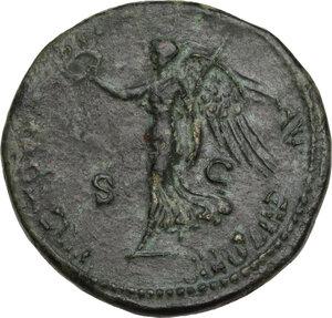 reverse: Nero (54-68).. AE Dupondius, Lugdunum mint