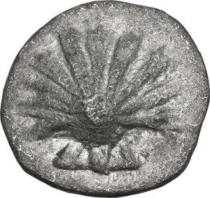 obverse: Southern Apulia, Tarentum. AR Litra, c. 325-280 BC