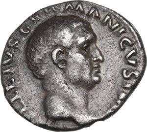 obverse: Vitellius (69 AD.).. AR Denarius, Rome mint