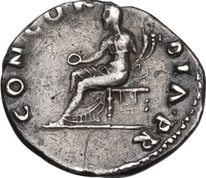 reverse: Vitellius (69 AD.).. AR Denarius, Rome mint