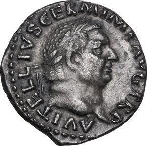 obverse: Vitellius (69 AD).. AR Denarius, Rome mint