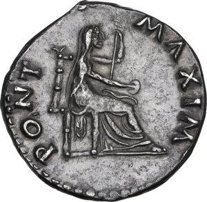 reverse: Vitellius (69 AD).. AR Denarius, Rome mint