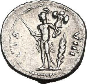 reverse: Vespasian (69 -79).. AR Denarius, 77-78 AD