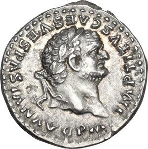 obverse: Titus (79-81).. AR Denarius, 86-88 AD