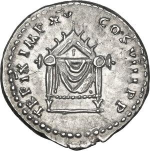 reverse: Titus (79-81).. AR Denarius, 86-88 AD