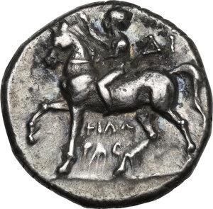 obverse: Southern Apulia, Tarentum. AR Stater, c. 272-240 BC