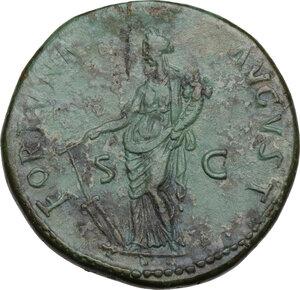 reverse: Nerva (96-98).. AE Sestertius, 96 AD