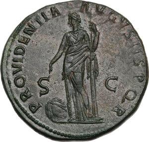 reverse: Trajan (98-117 AD).. AE Sestertius, Rome mint, 116-117 AD