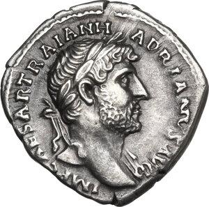 obverse: Hadrian (117-138).. AR Denarius, Rome mint, 119-125 AD