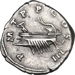 reverse: Hadrian (117-138).. AR Denarius, Rome mint, 119-125 AD