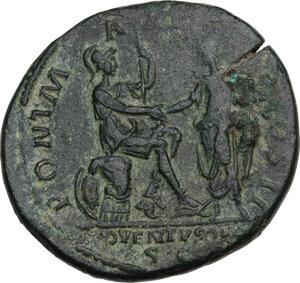 reverse: Hadrian (117-138)..  AE Dupondius, Rome mint,118 AD