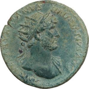 obverse: Hadrian (117-138).. AE Dupondius, 118 AD