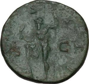 reverse: Hadrian (117-138).. AE Sestertius, 125-128