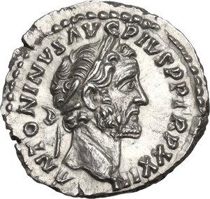 obverse: Antoninus Pius (138-161).. AR Denarius, Rome mint
