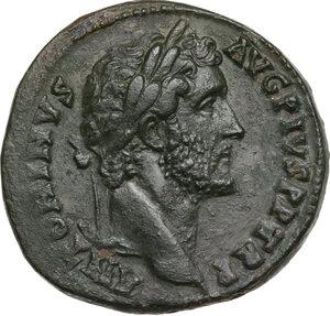 obverse: Antoninus Pius (138-161). . AE Sestertius, Rome mint, c.145-160