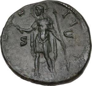 reverse: Antoninus Pius (138-161). . AE Sestertius, Rome mint, c.145-160