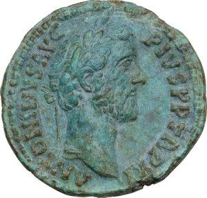 obverse: Antoninus Pius (138-161). AE As, Rome mint, 148 AD