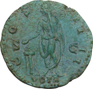 reverse: Antoninus Pius (138-161). AE As, Rome mint, 148 AD