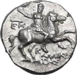 obverse: Southern Apulia, Tarentum.  AR Nomos,  240-228 BC