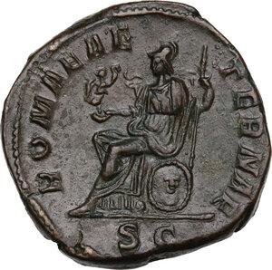 reverse: Severus Alexander (222-235 AD).. AE Sestertius, 222-231 AD
