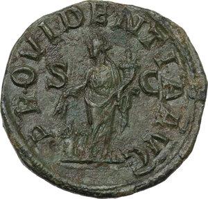 reverse: Severus Alexander (222-235 AD). AE Sestertius, 2