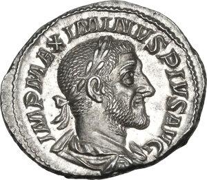 obverse: Maximinus I (225-238).. AR Denarius,