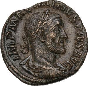 Maximinus I (235-238).. AE Sestertius, 235-238 AD
