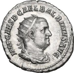 obverse: Balbinus (238 A.D.).. AR Antoninianus, Rome mint