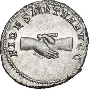 reverse: Balbinus (238 A.D.).. AR Antoninianus, Rome mint