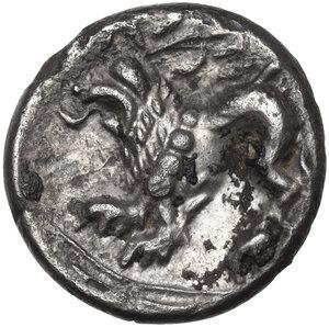 reverse: Cisalpine Gaul, the Veneti. AR Tetrobol, 2nd century BC