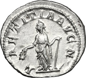 reverse: Gordian III (238-244).. AR Denarius, 241-243 AD