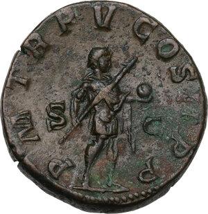 reverse: Gordian III (238-244 AD).. AE Sestertius, c. 242-243 AD
