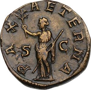 reverse: Philip II (247-249).. AE Sestertius, 246-249 AD