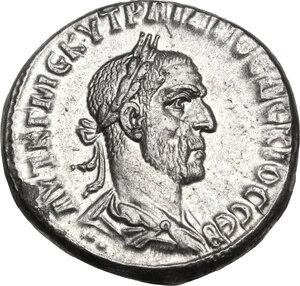 obverse: Trajan Decius (249-251).. BI Tetradrachm, Antiochia ad Orontem mint, Syria