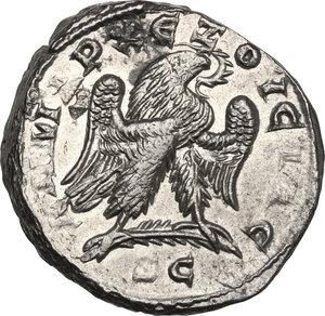 reverse: Trajan Decius (249-251).. BI Tetradrachm, Antiochia ad Orontem mint, Syria