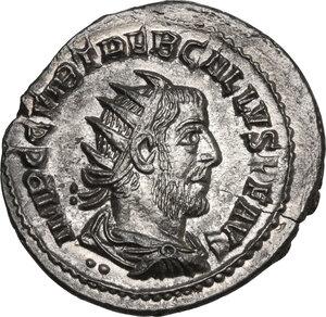 obverse: Trebonianus Gallus (251-253).. AR Antoninianus, Antioch mint