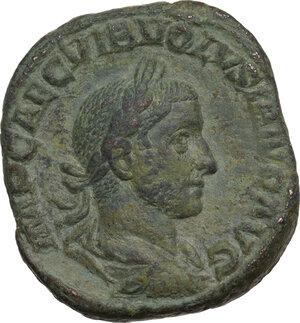 obverse: Volusian (251-253).. AE Sestertius, Rome mint