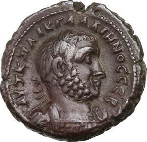 obverse: Gallienus (253-268).. BI Tetradrachm, Alexandria mint, Egypt. Dated RY 9 (261/2 AD)