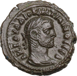 obverse: Diocletian (284-305 AD).. BI Tetradrachm. Alexandria mint, Egypt. Dated RY 3 (286/7 AD)