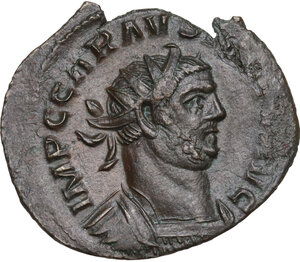 obverse: Carausius (287-293).. BI Antoninianus, Lugdunum mint