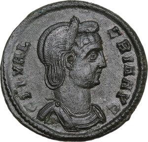 obverse: Galeria Valeria, wife of Galerius (died 315 AD).. AE Follis, 309-310 AD. Heraclea mint
