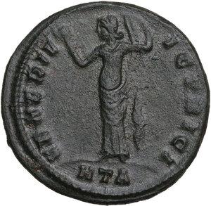 reverse: Galeria Valeria, wife of Galerius (died 315 AD).. AE Follis, 309-310 AD. Heraclea mint