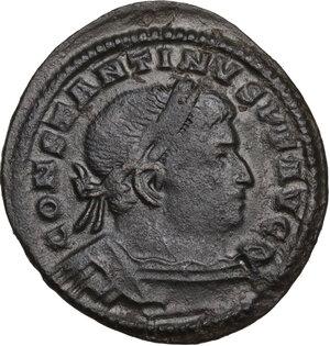 obverse: Constantine I (307-337).. AE Follis. Treveri mint. Struck circa 310-313 AD