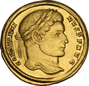 obverse: Constantine I (307-337).. AV Solidus, Treveri mint, 313-315 AD