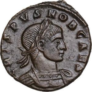 obverse: Crispus (Caesar, 317-326).. AE Follis, Arelate mint, 317-318 AD