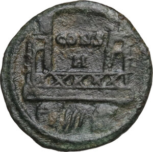 reverse: Commemorative series.. AE 14 mm. Constantinople mint. Special issue for the dedication of the city, c. 330 AD