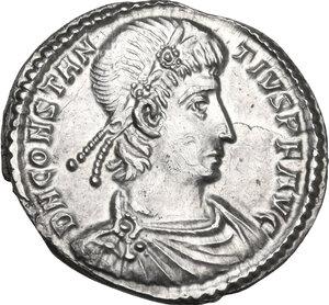 obverse: Constantius II (337-361).. AR Siliqua, Aquileia mint, before 355 AD