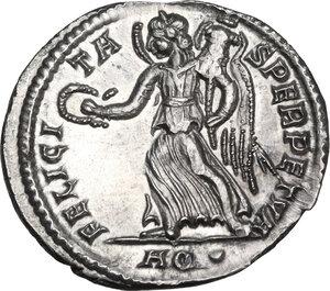 reverse: Constantius II (337-361).. AR Siliqua, Aquileia mint, before 355 AD