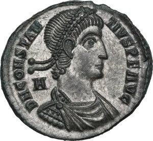 obverse: Constantius II (337-361).. AE 25 mm. Siscia mint, 348-350